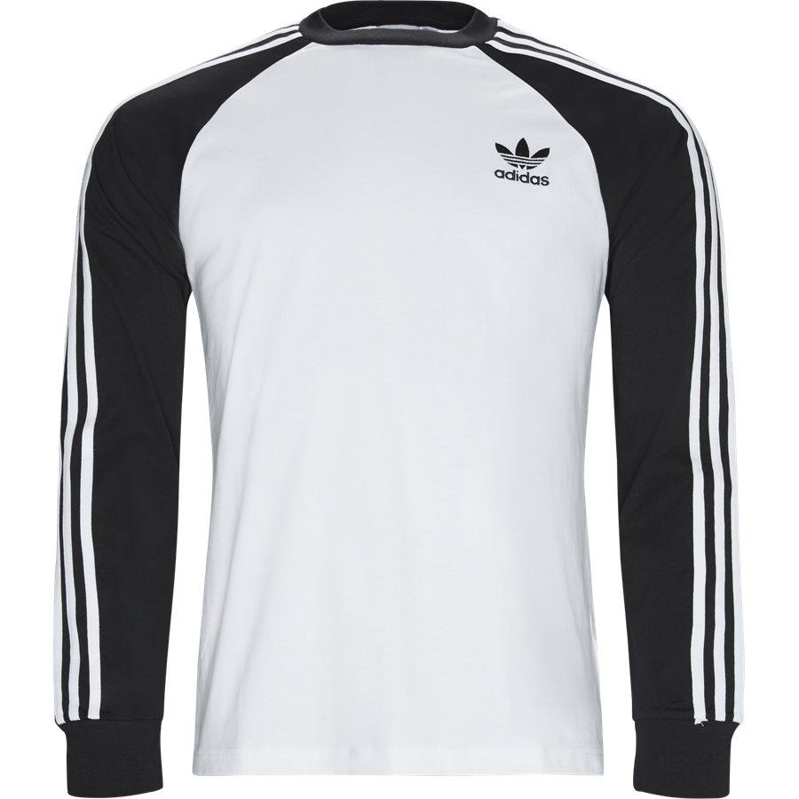 3 STRIPES LS DH5793 - 3 Stripes LS Tee - T-shirts - Regular - HVID - 1