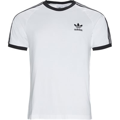 3 Stripes Tee Regular | 3 Stripes Tee | Hvid