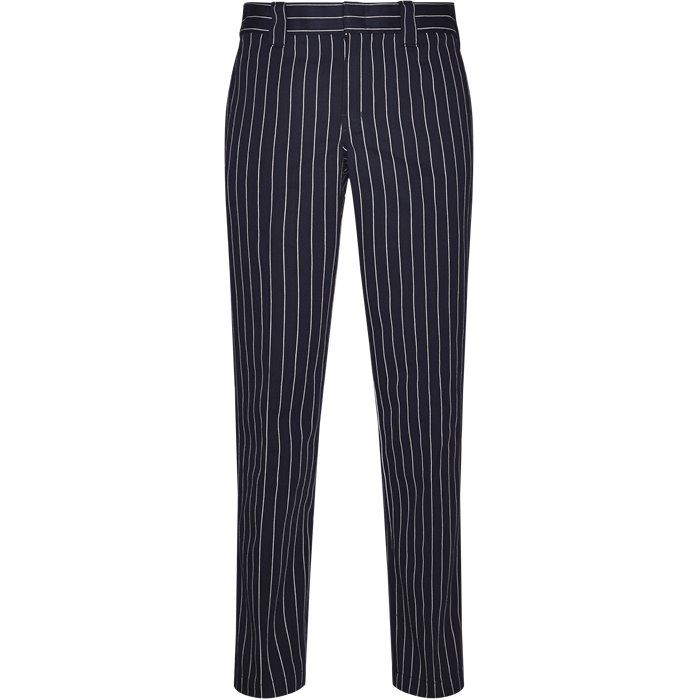WP873 Stripe - Bukser - Regular - Blå