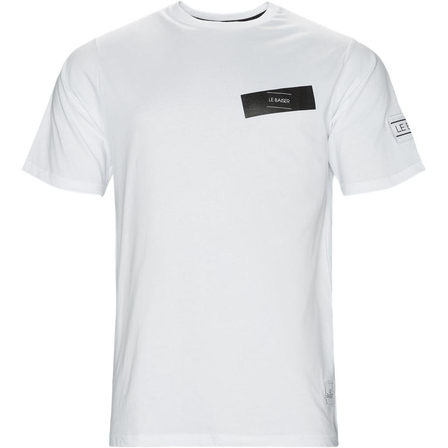PAU - Pau T-shirt - T-shirts - Regular - WHITE - 1