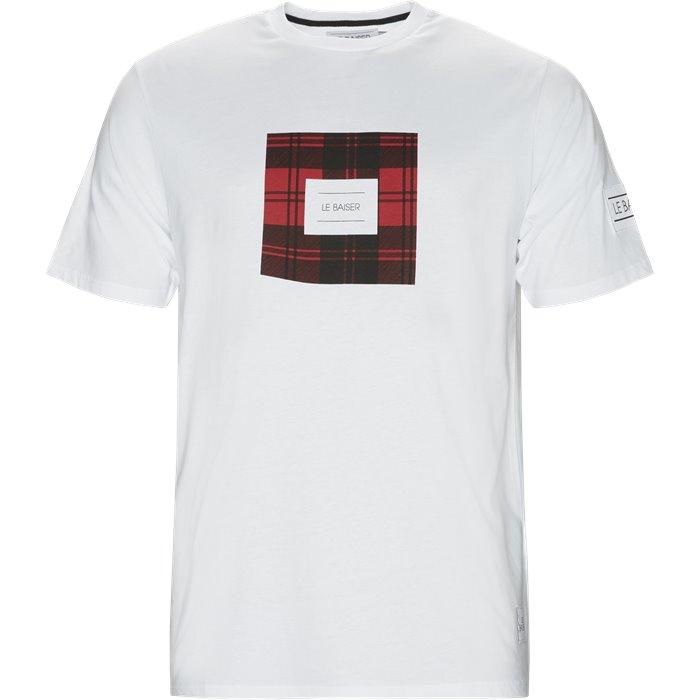 Brest T-shirt - T-shirts - Regular - Hvid