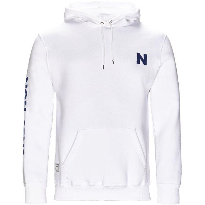 Iowa Sweatshirt - Sweatshirts - Regular - Hvid
