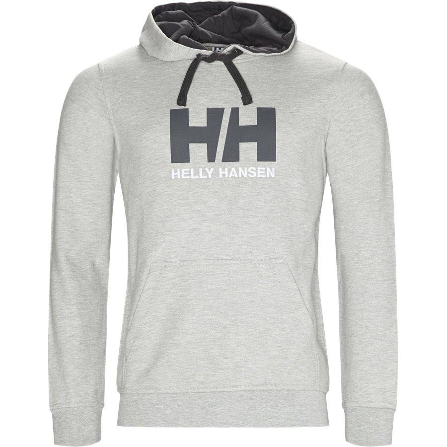 HH LOGO HOODIE 33977 - HH Logo Hoodie - Sweatshirts - Regular - GRÅ - 1