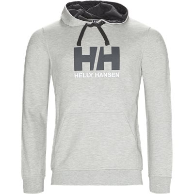 HH Logo Hoodie Regular | HH Logo Hoodie | Grå