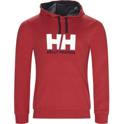HH Logo Hoodie Regular | HH Logo Hoodie | Rød