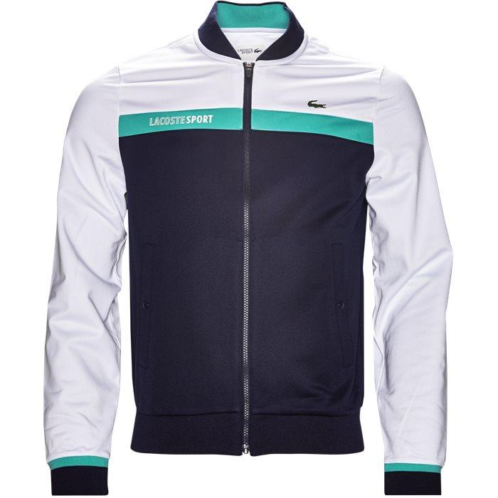 SH9504 Track Top - Sweatshirts - Regular - Hvid