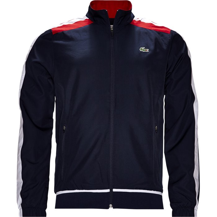 WH9518 Track Top - Sweatshirts - Regular - Blå