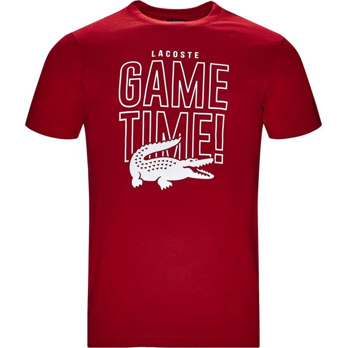 T-shirts - Regular - Röd
