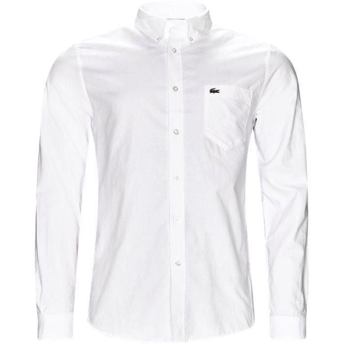 Skjortor - Regular - Vit