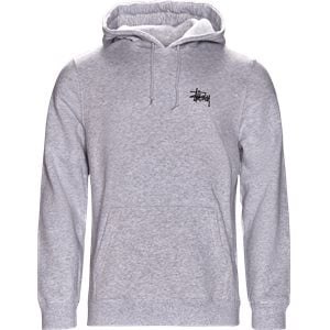 Basic Stüssy Hood Regular | Basic Stüssy Hood | Grå