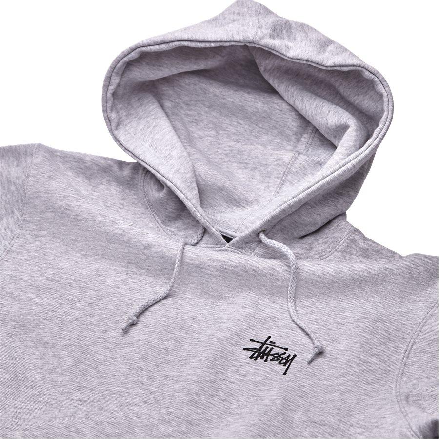 BASIC STUSSY HOOD 1924257 - Basic Stüssy Hood - Sweatshirts - Regular - GRÅ - 3