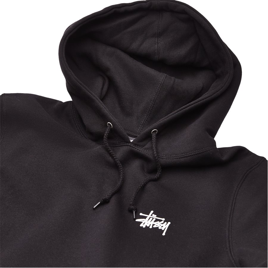 BASIC STUSSY HOOD 1924257 - Basic Stüssy Hood - Sweatshirts - Regular - SORT - 3