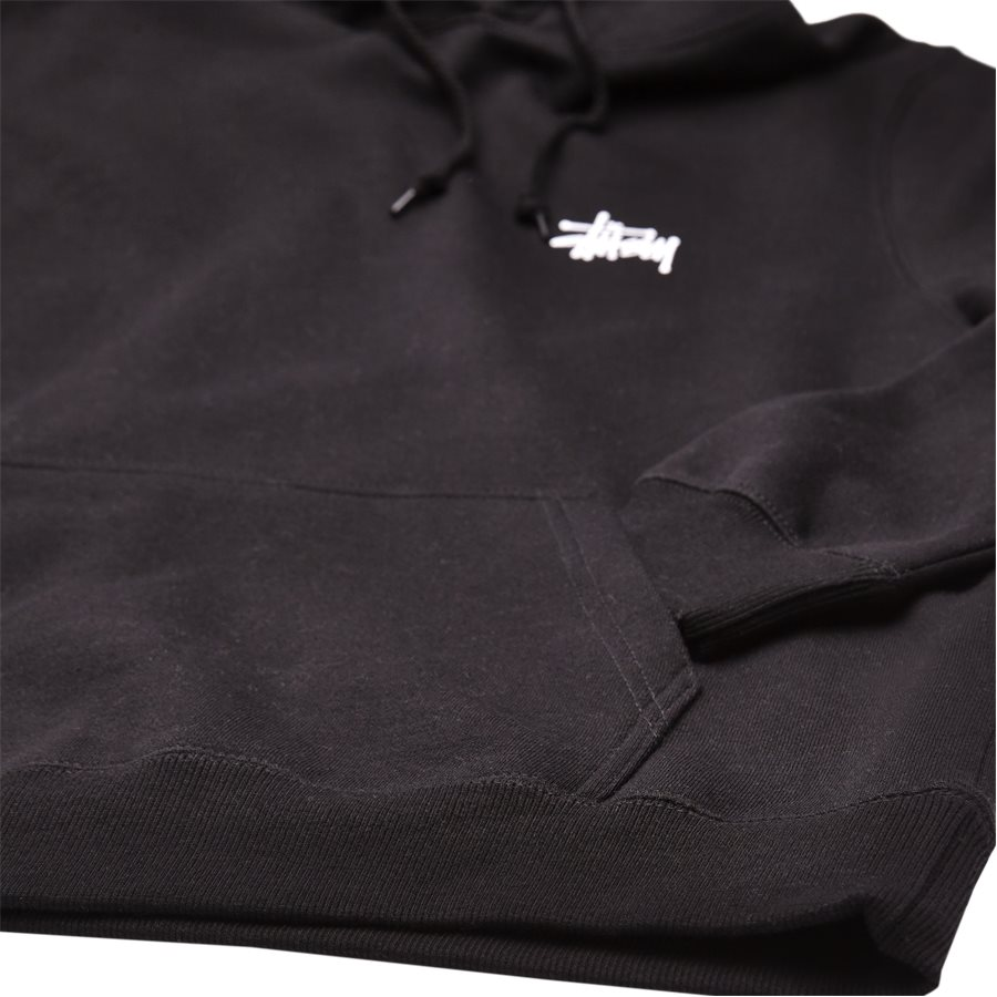 BASIC STUSSY HOOD 1924257 - Basic Stüssy Hood - Sweatshirts - Regular - SORT - 4