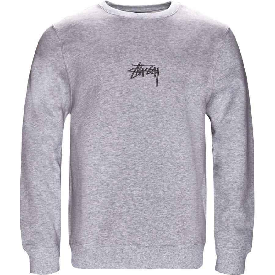 STOCK APP. CREW 118294 - Stock App Crew - Sweatshirts - Regular - GRÅ - 1