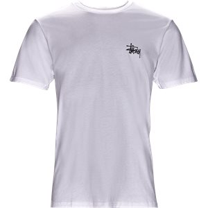 Basic Stüssy Tee Regular | Basic Stüssy Tee | Hvid