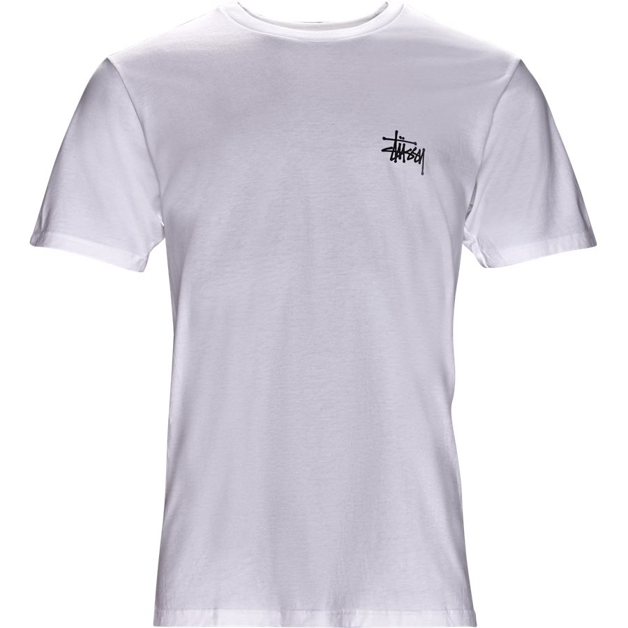 BASIC STUSSY TEE 1904257 - Basic Stüssy Tee - T-shirts - Regular - HVID - 1
