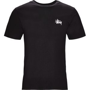 Basic Stüssy Tee Regular | Basic Stüssy Tee | Sort