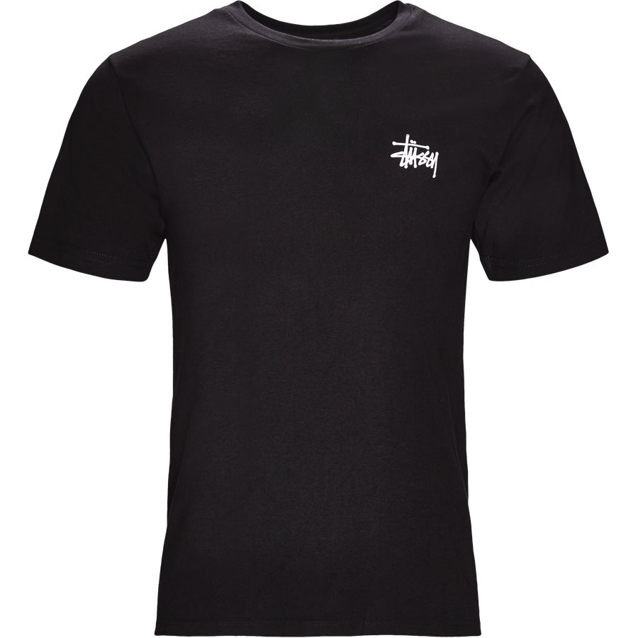BASIC STUSSY TEE 1904257 - Basic Stüssy Tee - T-shirts - Regular - SORT - 1
