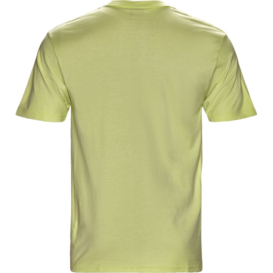 SMOOTH STOCK 1904268 - Smooth Stock  - T-shirts - Regular - LIME - 2