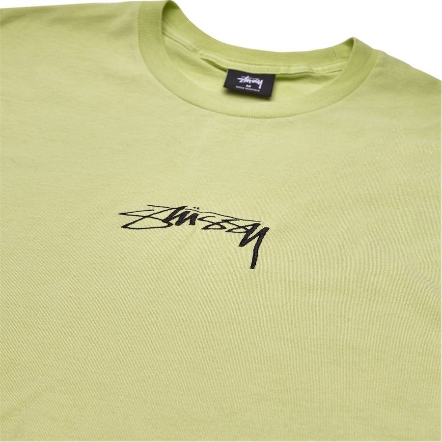 SMOOTH STOCK 1904268 - Smooth Stock  - T-shirts - Regular - LIME - 3