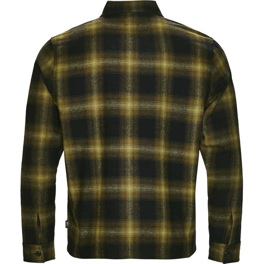 ZIP UP SHADOW SHIRT 111997 - Zip Up Shadow Shirt - Skjorter - Regular - GRØN - 2