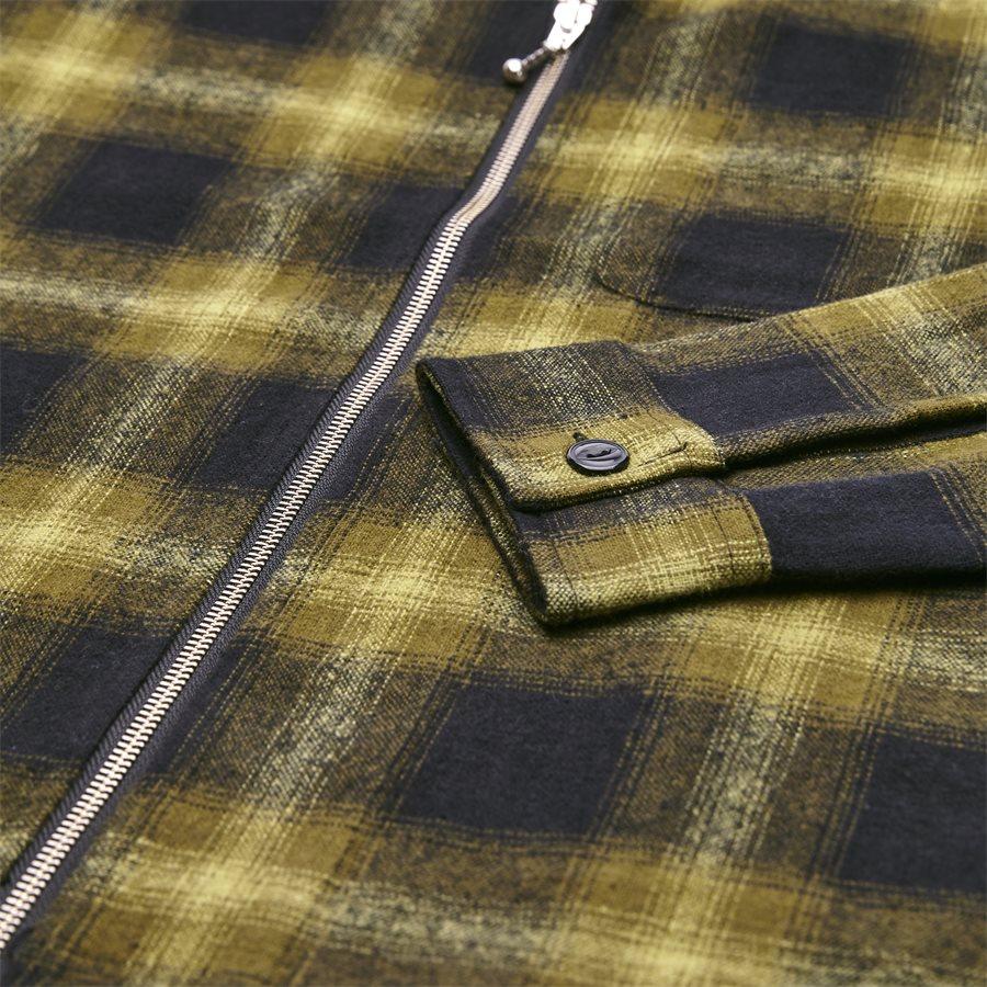 ZIP UP SHADOW SHIRT 111997 - Zip Up Shadow Shirt - Skjorter - Regular - GRØN - 4