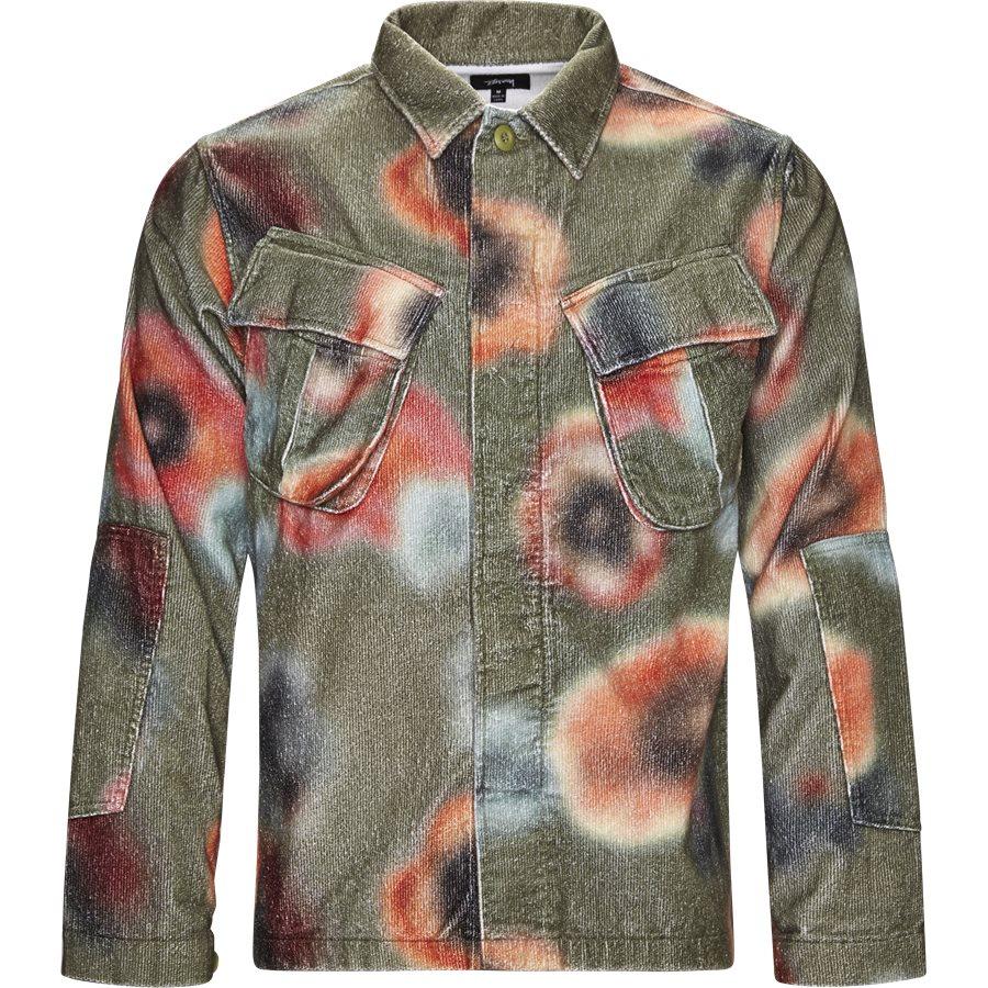 VELVETEEN JUNGLE SHIRT 1110005 - Velveteen Jungle Shirt - Skjorter - Loose - SAND - 1
