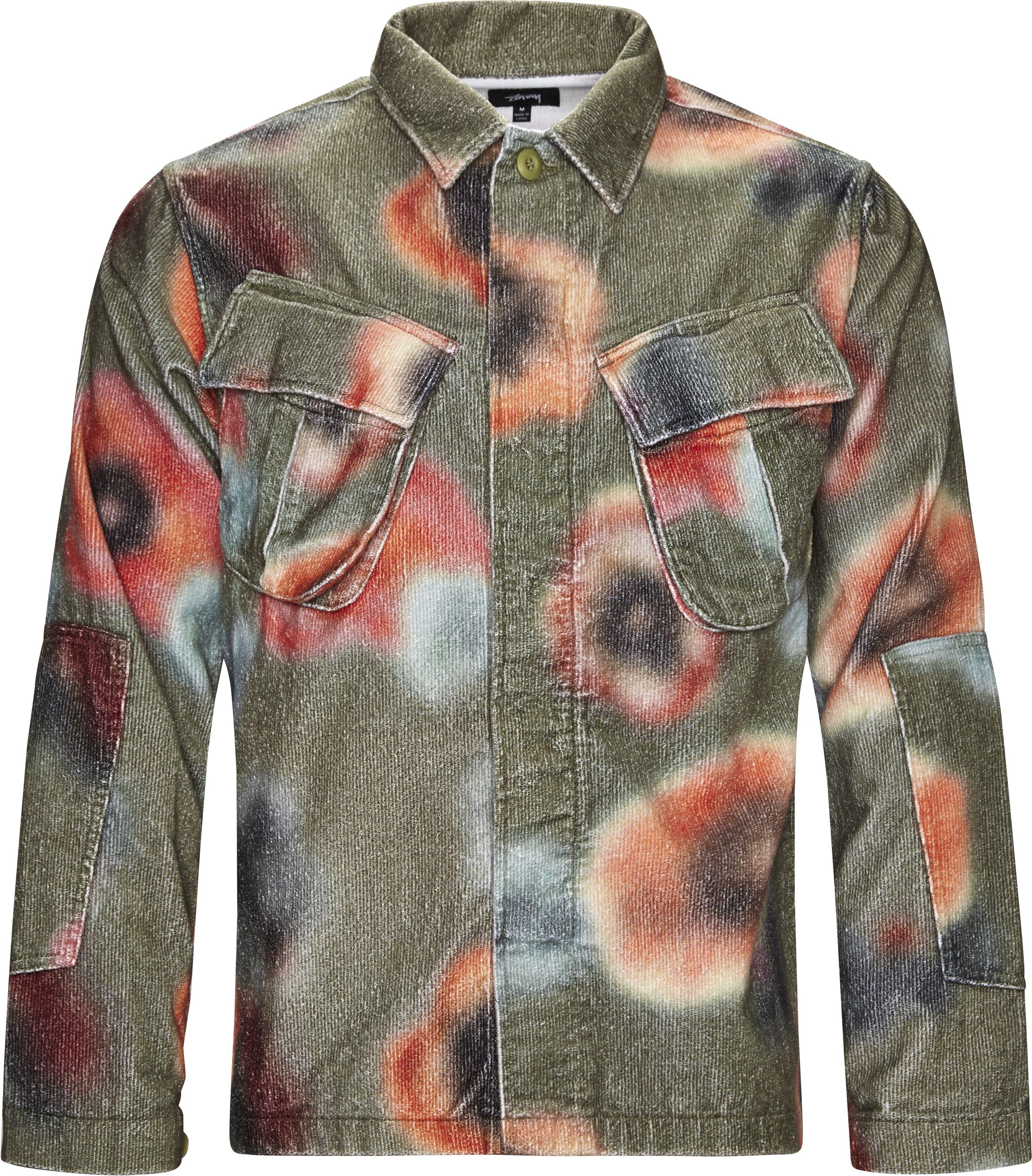 Velveteen Jungle Shirt - Skjorter - Loose fit - Sand