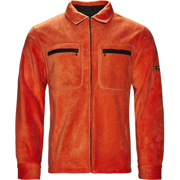 Polar Fleece - Jakker - Regular - Orange