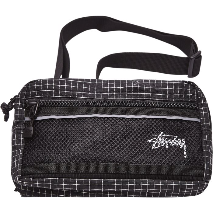 RIPSTOP NYLON WAIST BAG 134187 - Tasker - Sort