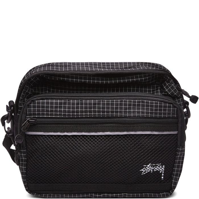RIPSTOP NYLON SHOULDER BAG 134185 - Tasker - Sort