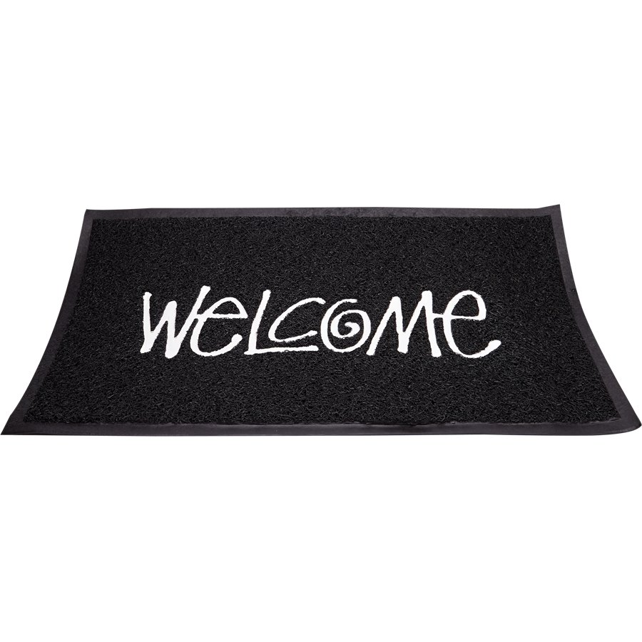 PVC WELCOME MAT - PVC Welcome dørmåtte - Accessories - SORT - 1