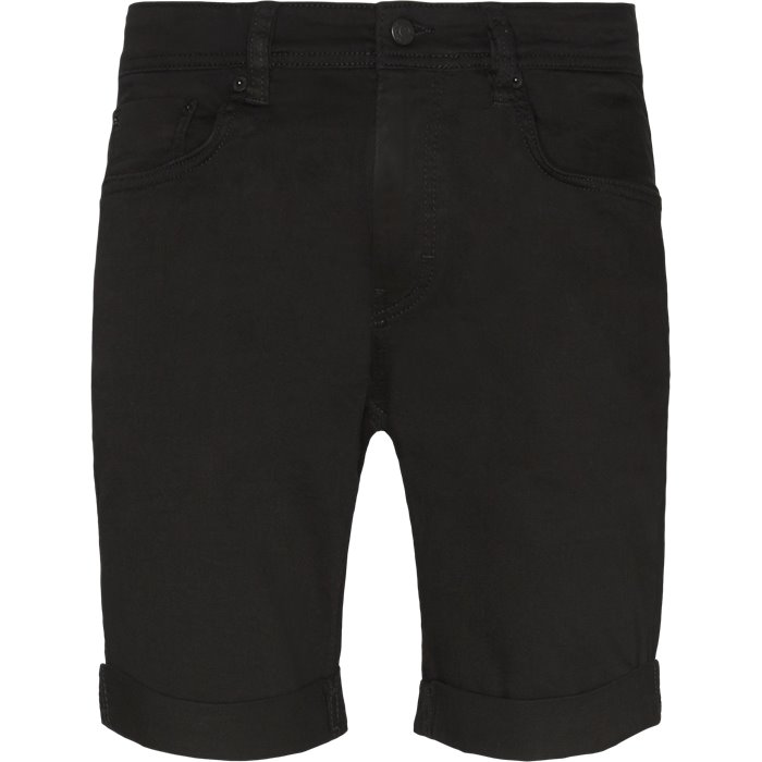 New Black Mike - Shorts - Regular - Sort
