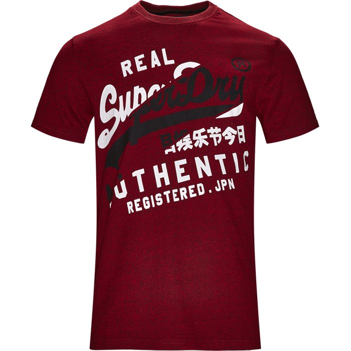 M10032TR - T-shirts - Regular - Rød