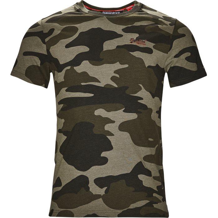 M10002ER - T-shirts - Regular - Grøn