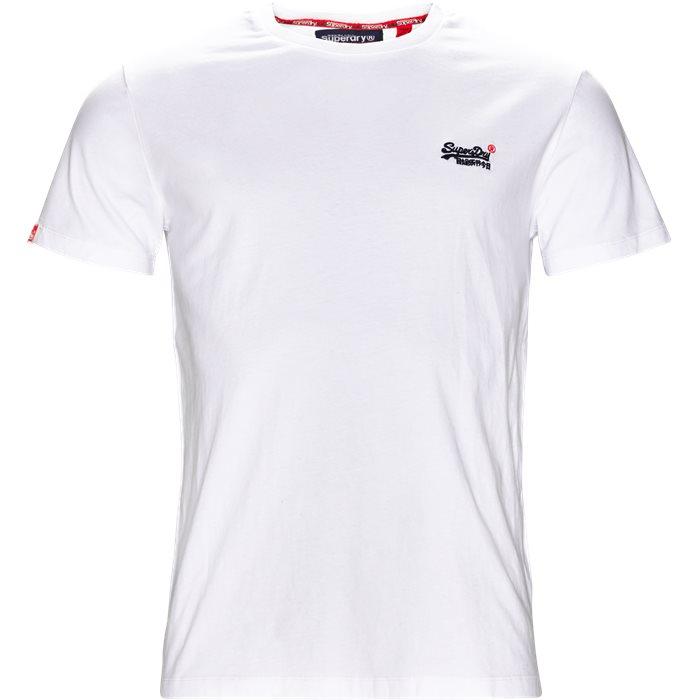 M1000 - T-shirts - Regular - Hvid