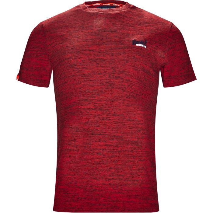 M1000 - T-shirts - Regular - Rød