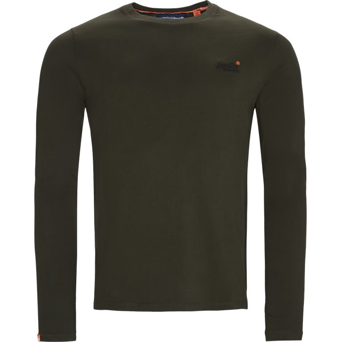 M60001 LS Tee - T-shirts - Regular - Grøn