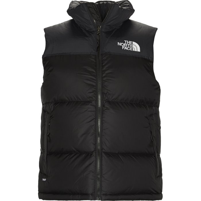1996 Retro Nuptse Vest - Veste - Regular - Sort