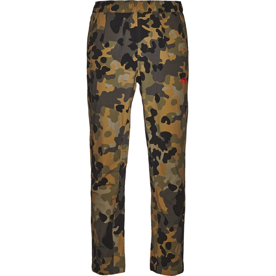 TECHWOVEN - Techwoven - Bukser - Regular - CAMO - 1