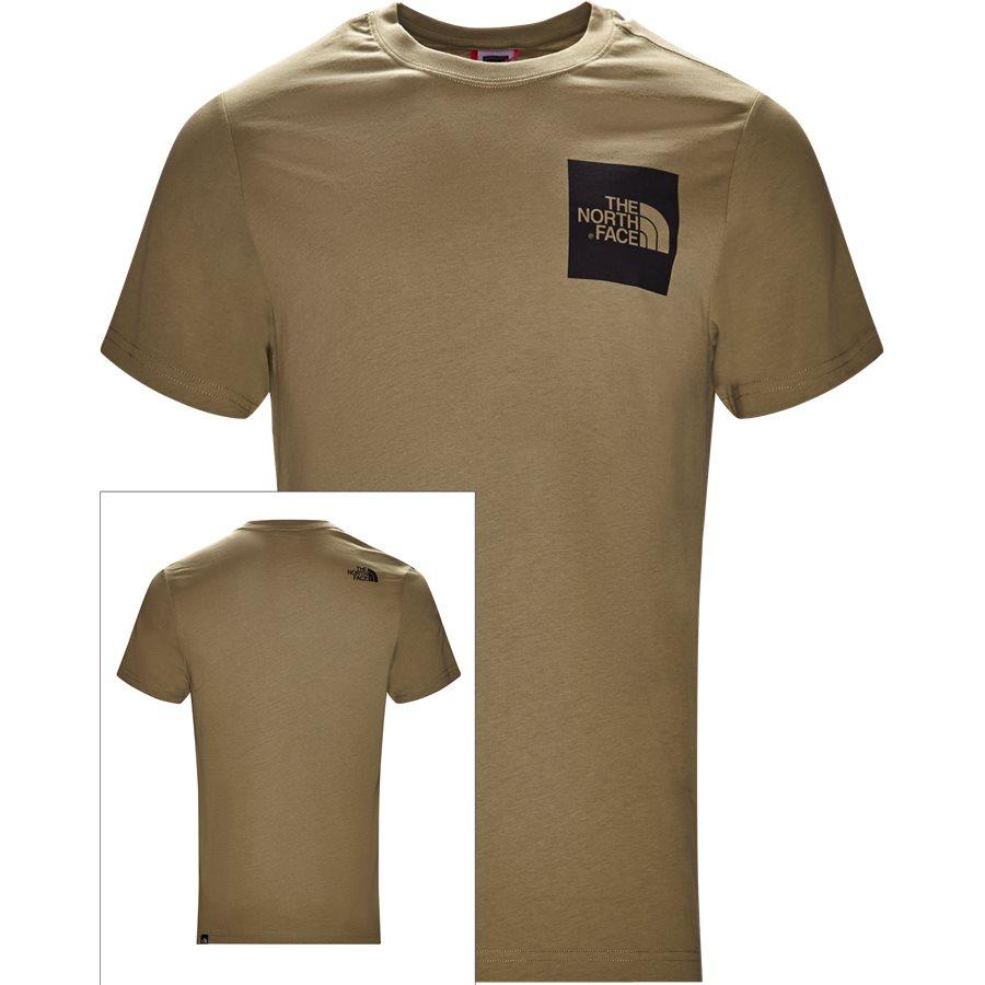 FINE TEE SS. - Fine Tee SS - T-shirts - Regular - GRØN - 1