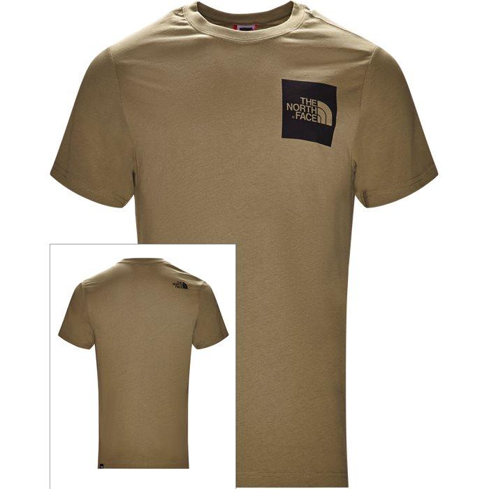 Fine Tee SS - T-shirts - Regular - Grøn