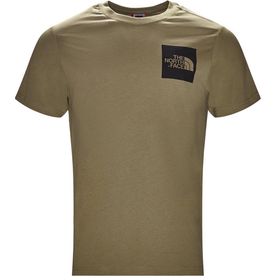 FINE TEE SS. - Fine Tee SS - T-shirts - Regular - GRØN - 2