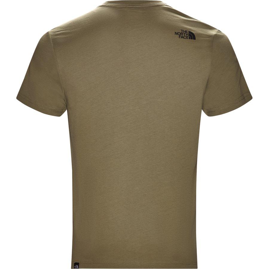 FINE TEE SS. - Fine Tee SS - T-shirts - Regular - GRØN - 3