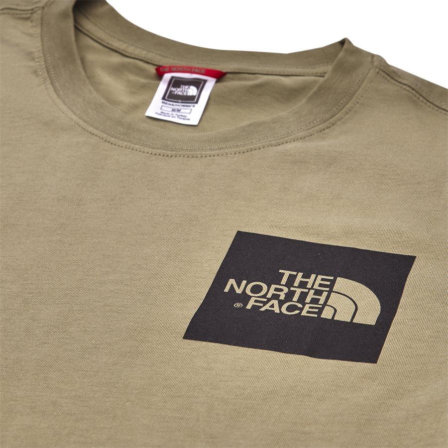 FINE TEE SS. - Fine Tee SS - T-shirts - Regular - GRØN - 4