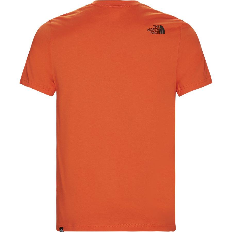 FINE TEE SS. - Fine Tee SS - T-shirts - Regular - ORANGE - 3