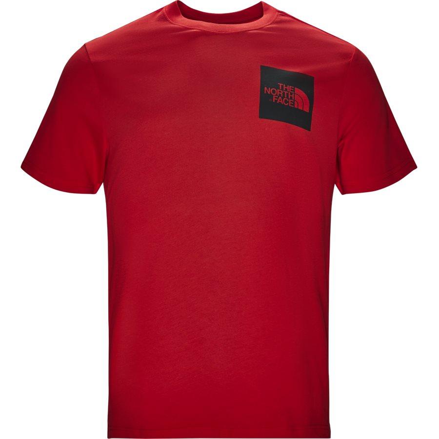 FINE TEE SS. - Fine Tee SS - T-shirts - Regular - RØD - 2