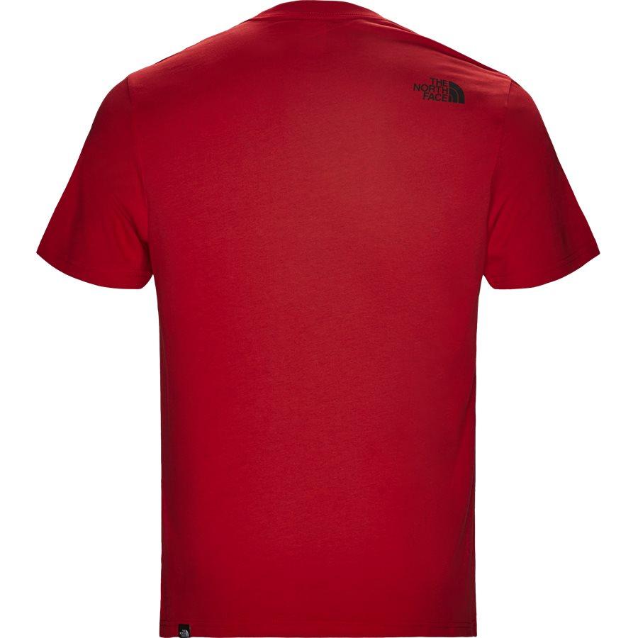 FINE TEE SS. - Fine Tee SS - T-shirts - Regular - RØD - 3
