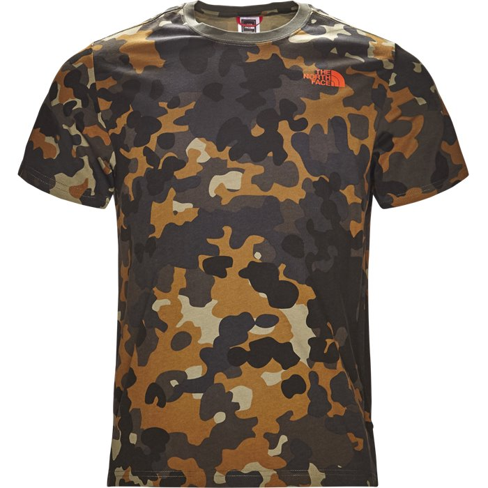 Red Box Tee - T-shirts - Regular - Army