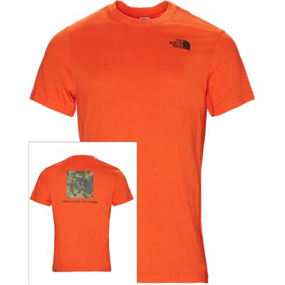 Red Box Tee Regular | Red Box Tee | Orange